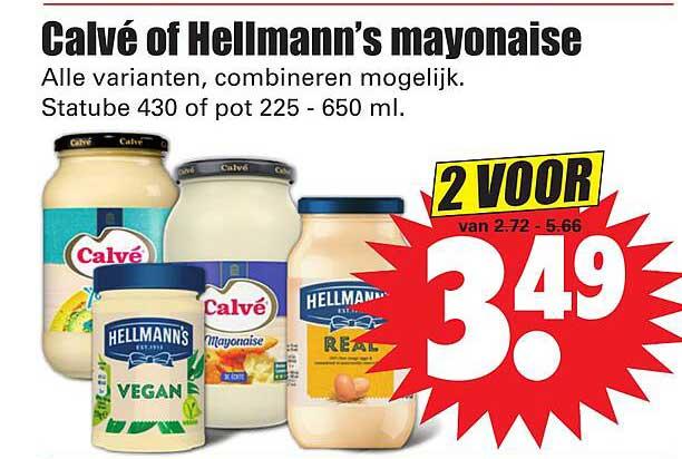 Dirk Calvé Of Hellmann's Mayonaise
