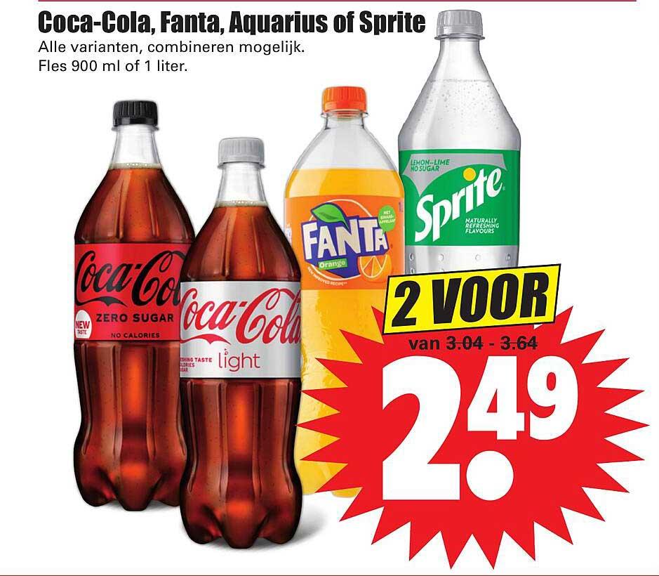 Dirk Coca-Cola, Fanta, Aquarius Of Sprite
