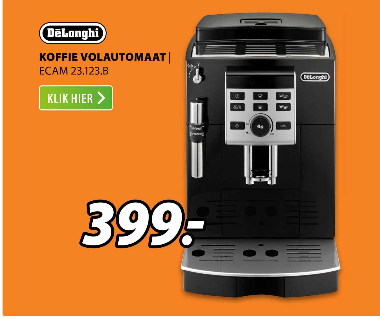 Expert DēLonghi Koffie Volautomaat   ECAM 23.123.B
