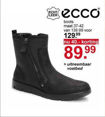 Scapino Ecco Boots 40.- Korting