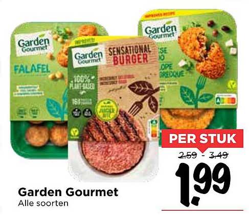 Vomar Garden Gourmet