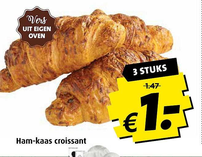 Boni Ham-Kaas Croissant