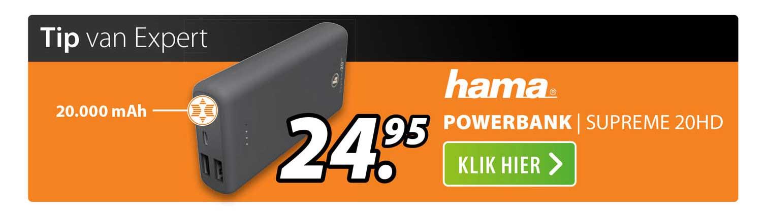 Expert Hama Powerbank   Supreme 20HD