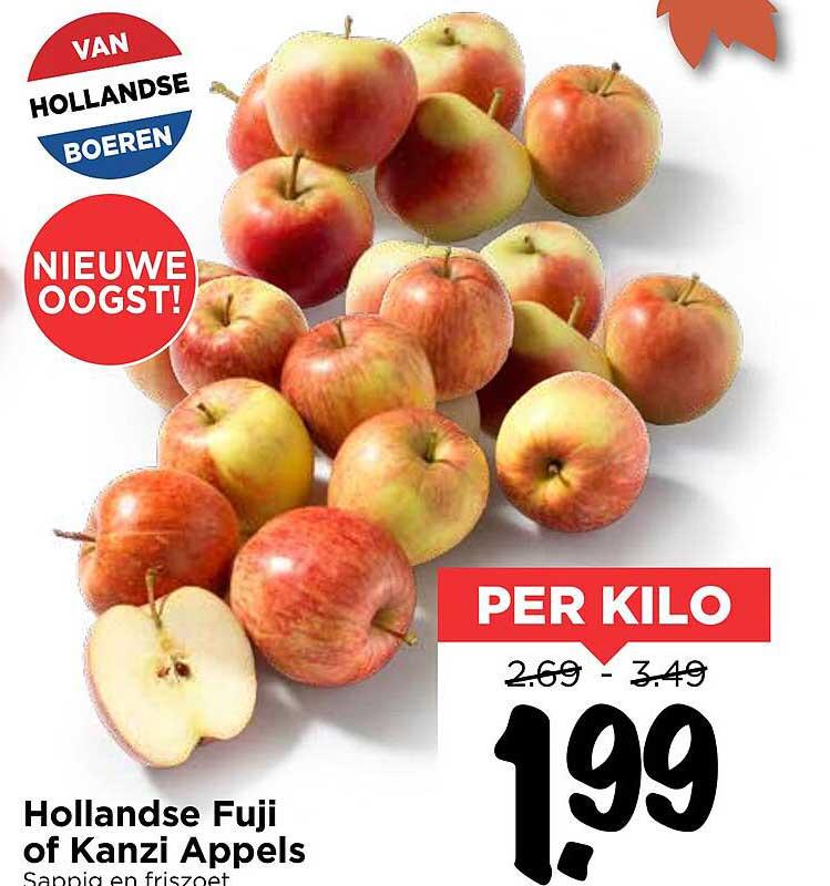 Vomar Hollandse Fuji Of Kanzi Appels