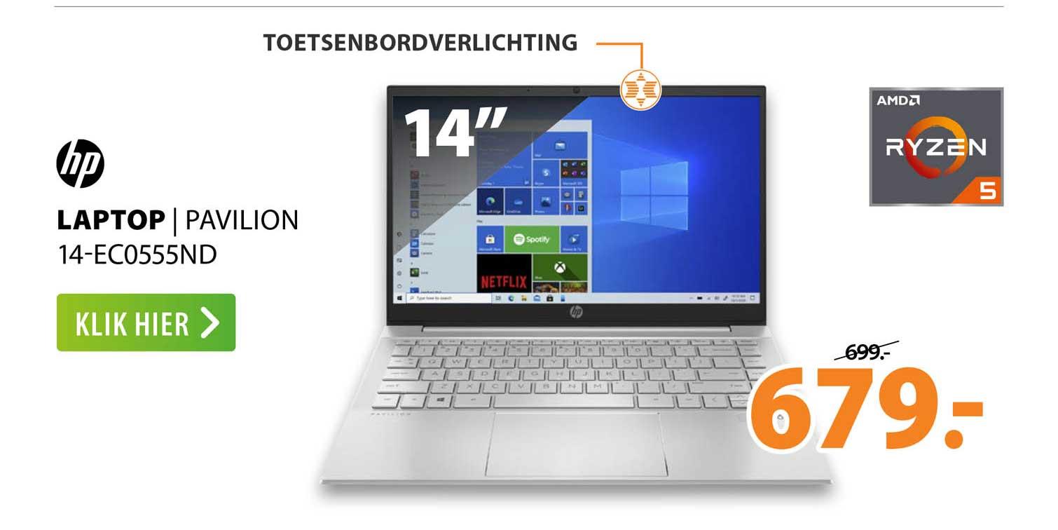 Expert HP Laptop   Pavilion 14-EC0555ND