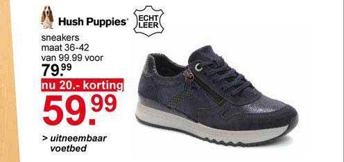 Scapino Hush Puppies Sneakers 20.- Korting