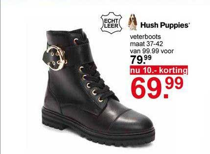 Scapino Hush Puppies Veterboots 10.- Korting