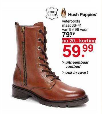 Scapino Hush Puppies Veterboots 20.- Korting