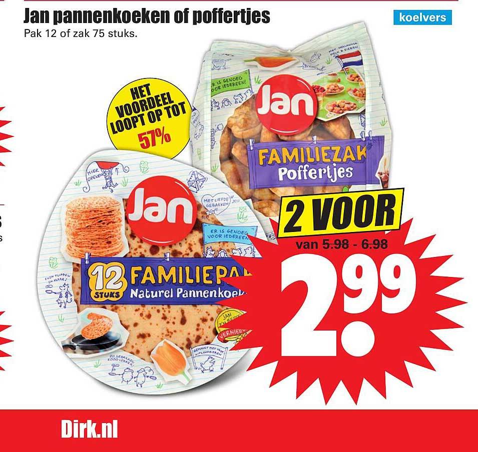 Dirk Jan Pannenkoeken Of Poffertjes