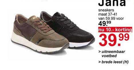 Scapino Jana® Sneakers Bruin Of Lichtbruin 10.- Korting