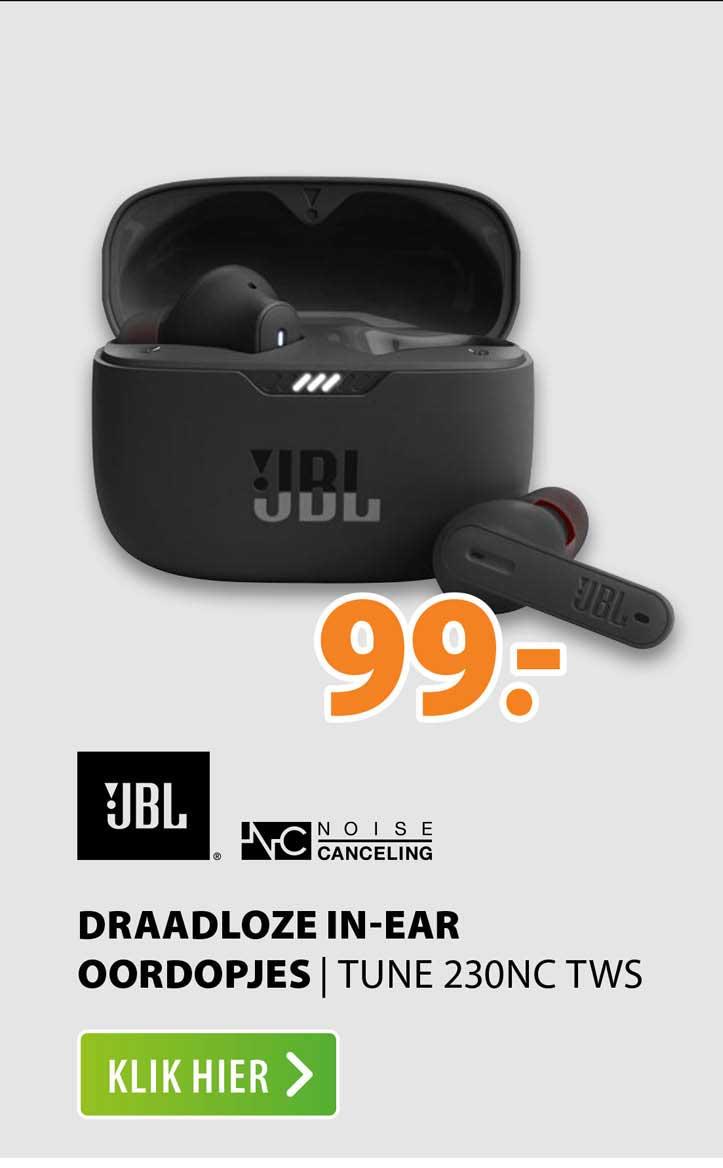 Expert JBL Draadloze In-Ear Oordopjes   Tune 230NC TWS
