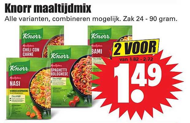 Dirk Knorr Maaltijdmix