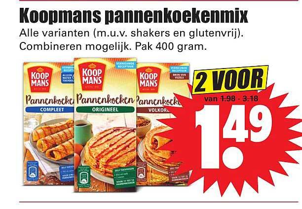 Dirk Koopmans Pannenkoekenmix