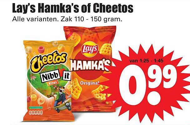 Dirk Lay's Hamka's Of Cheetos