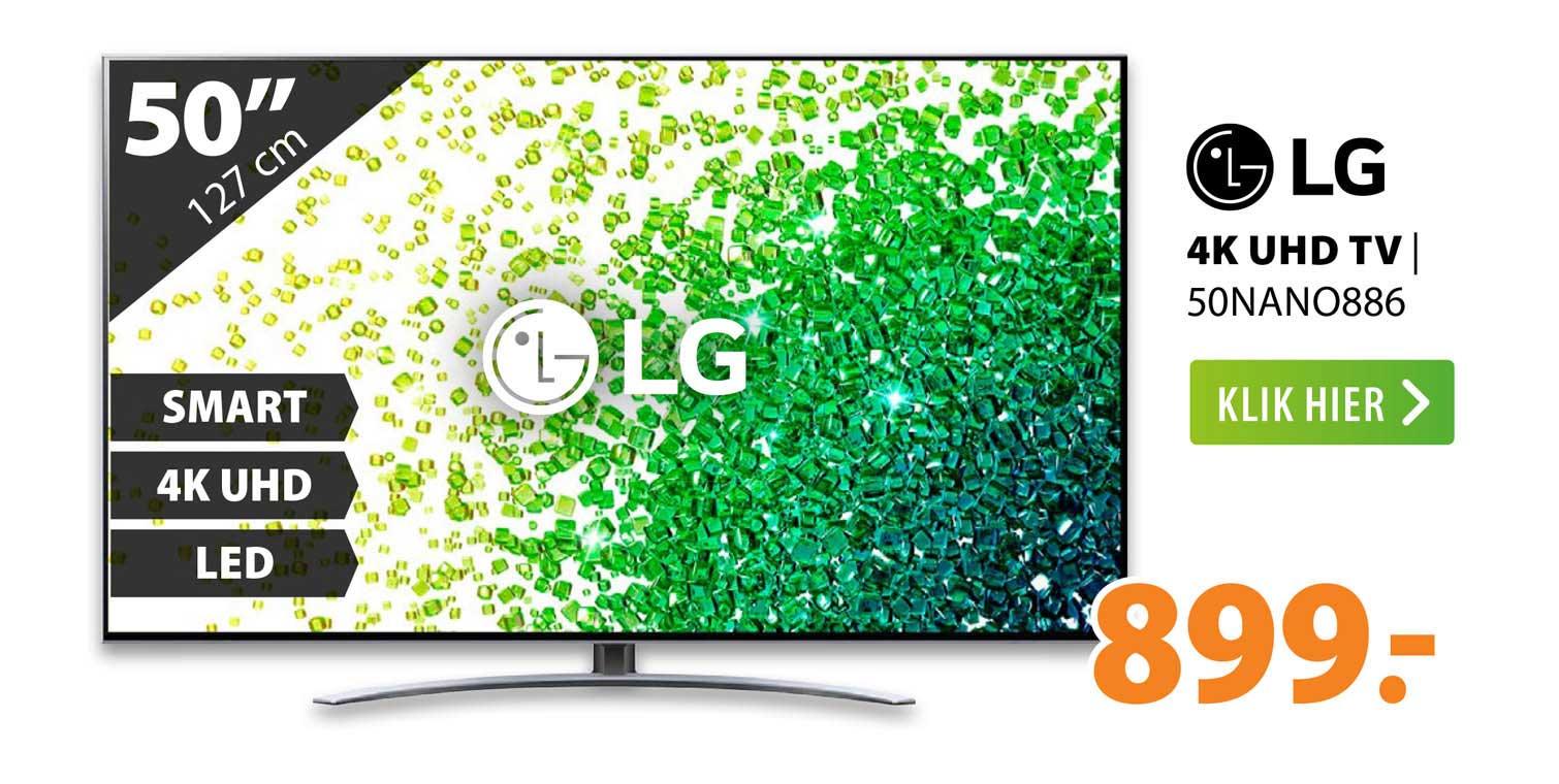 Expert LG 4K UHD TV   50NANO886