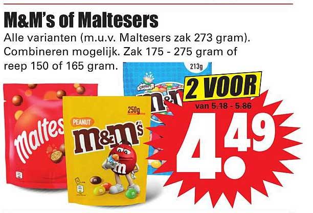 Dirk M&M's Of Maltesers
