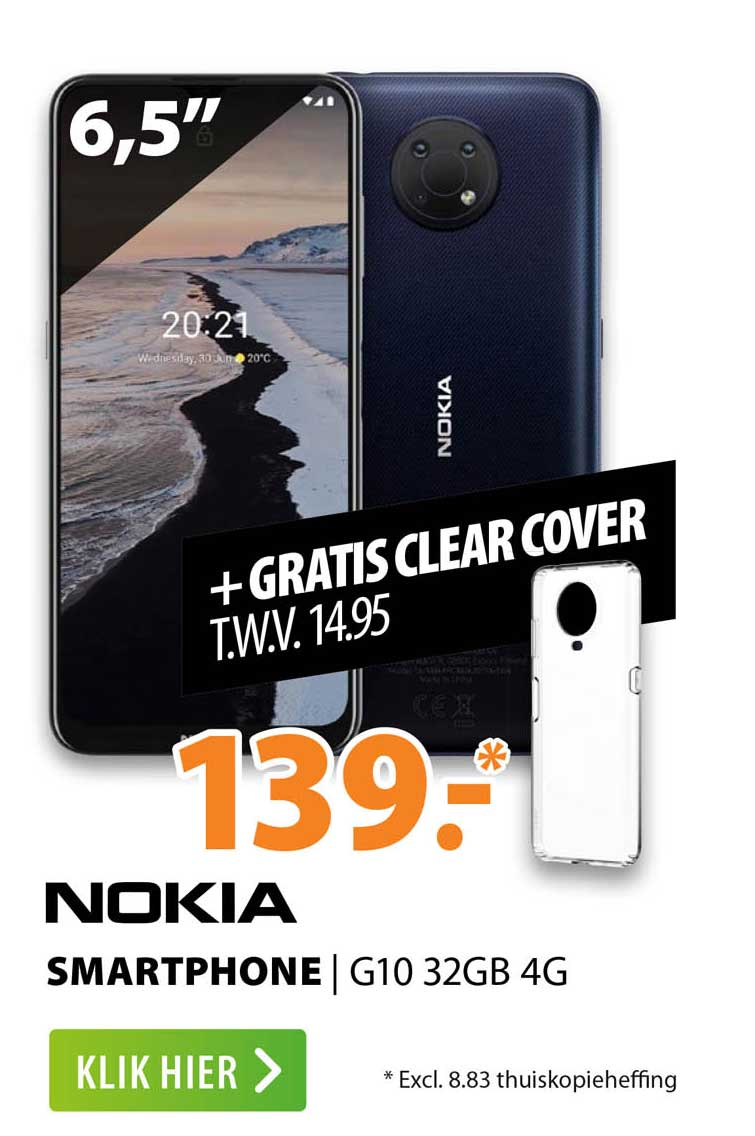 Expert Nokia Smartphone   G10 32GB 4G