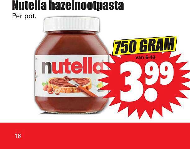 Dirk Nutella Hazelnootpasta