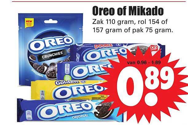 Dirk Oreo Of Mikado