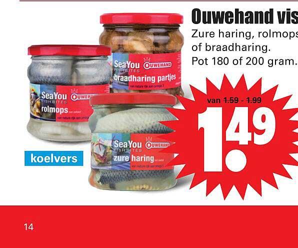 Dirk Ouwehand Vis Zure Haring, Rolmops Of Braadharing
