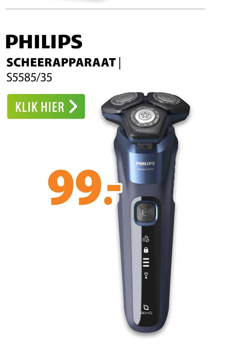 Expert Philips Scheerapparaat   S5585-35