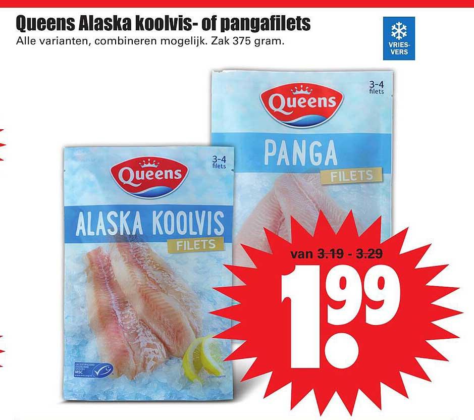 Dirk Queens Alaska Koolvis- Of Pangafilets