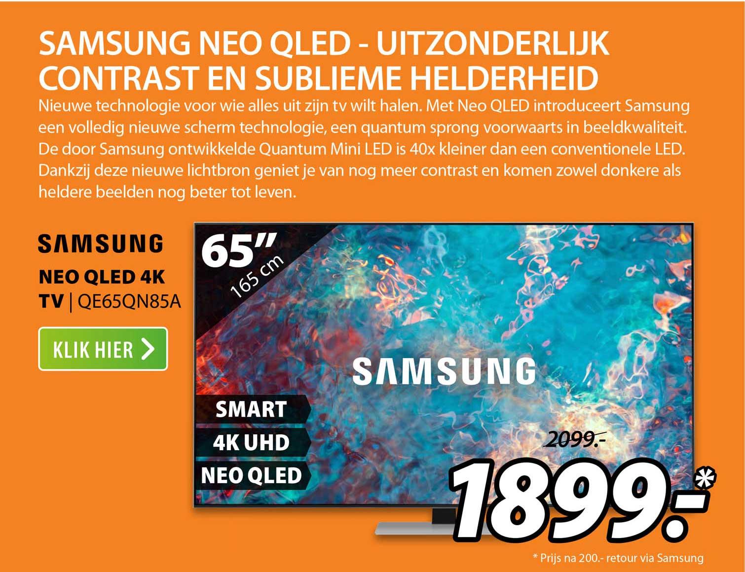 Expert Samsung Neo QLED 4K TV   QE65QN85A
