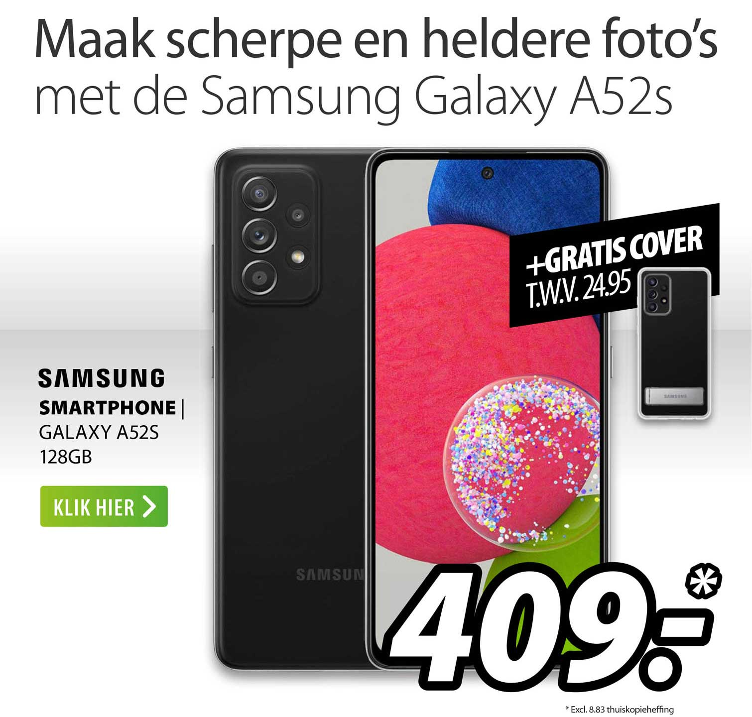 Expert Samsung Smartphone   Galaxy A52S 128GB
