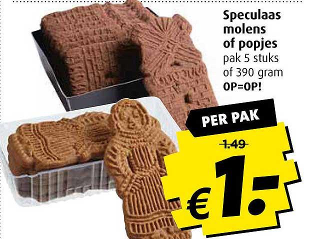 Boni Speculaas Molens Of Popjes