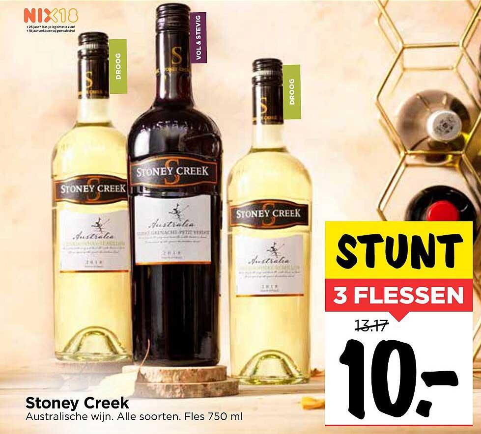 Vomar Stoney Creek Australische Wijn