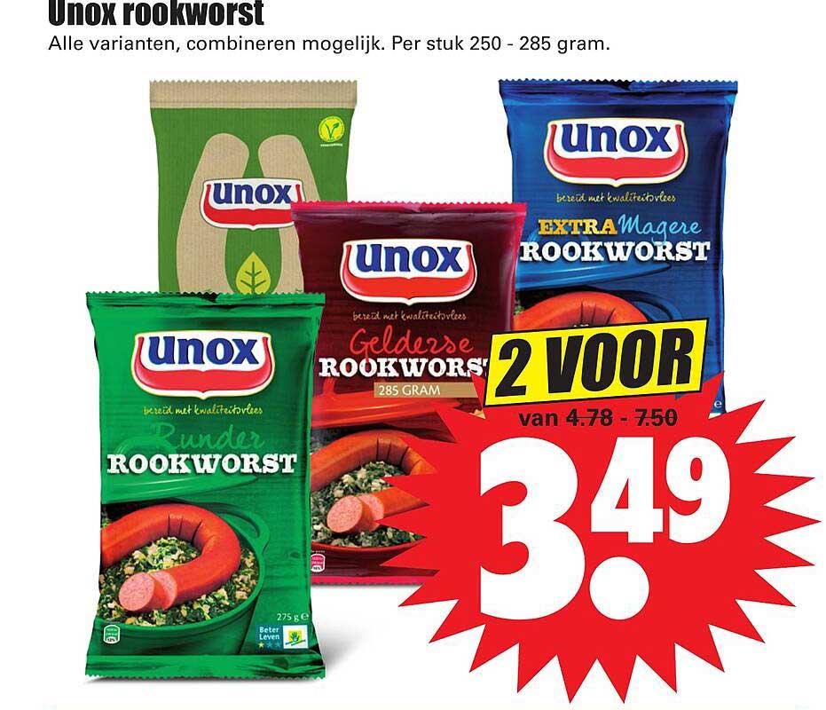 Dirk Unox Rookworst