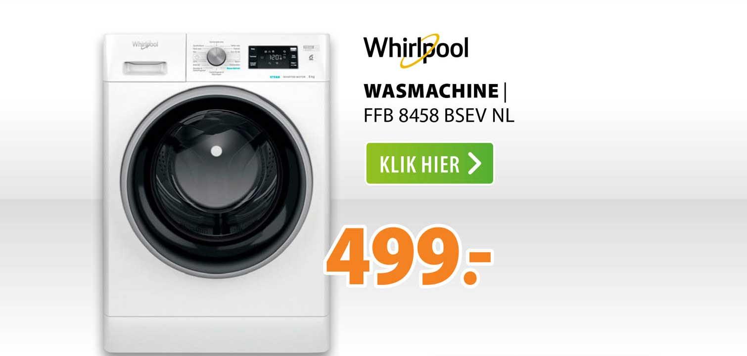 Expert Whirlpool Wasmachine   FFB 8458 BSEV NL