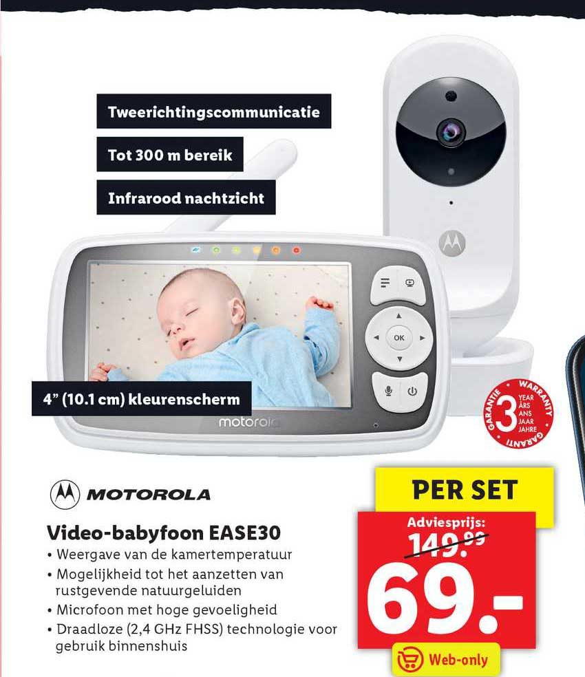 Lidl Video-Babyfoon EASE30