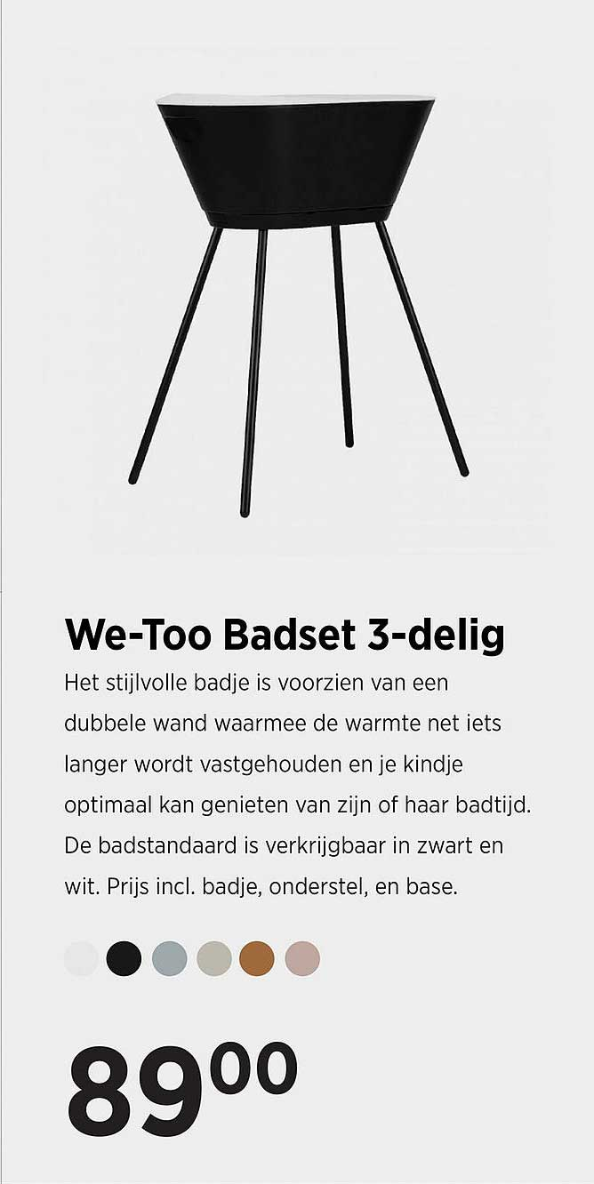 Babypark We-Too Badset 3-Delig