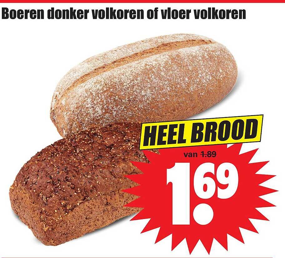 Dirk Boeren Donker Volkoren Of Vloer Volkoren