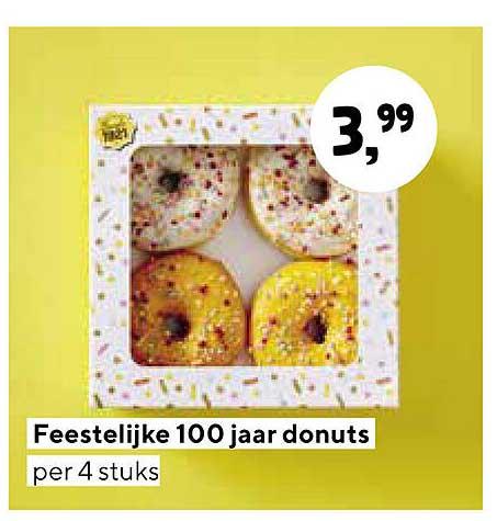 Jumbo Feestelijke 100 Jaar Donuts