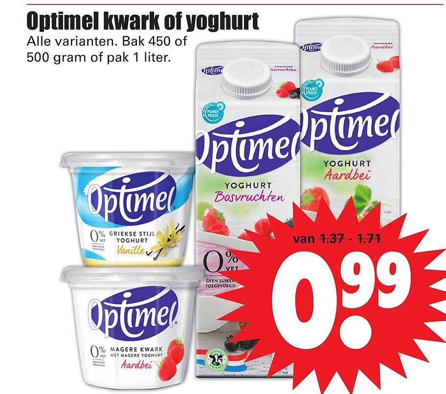 Dirk Optimel Kwark Of Yoghurt
