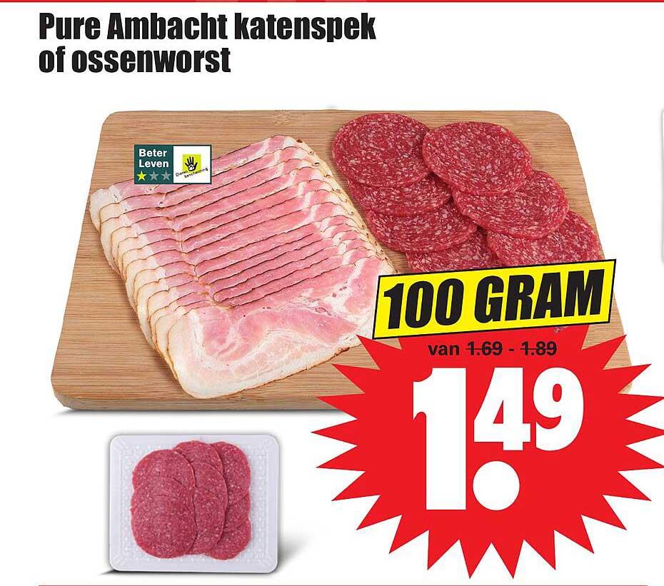 Dirk Pure Ambacht Katenspek Of Ossenworst
