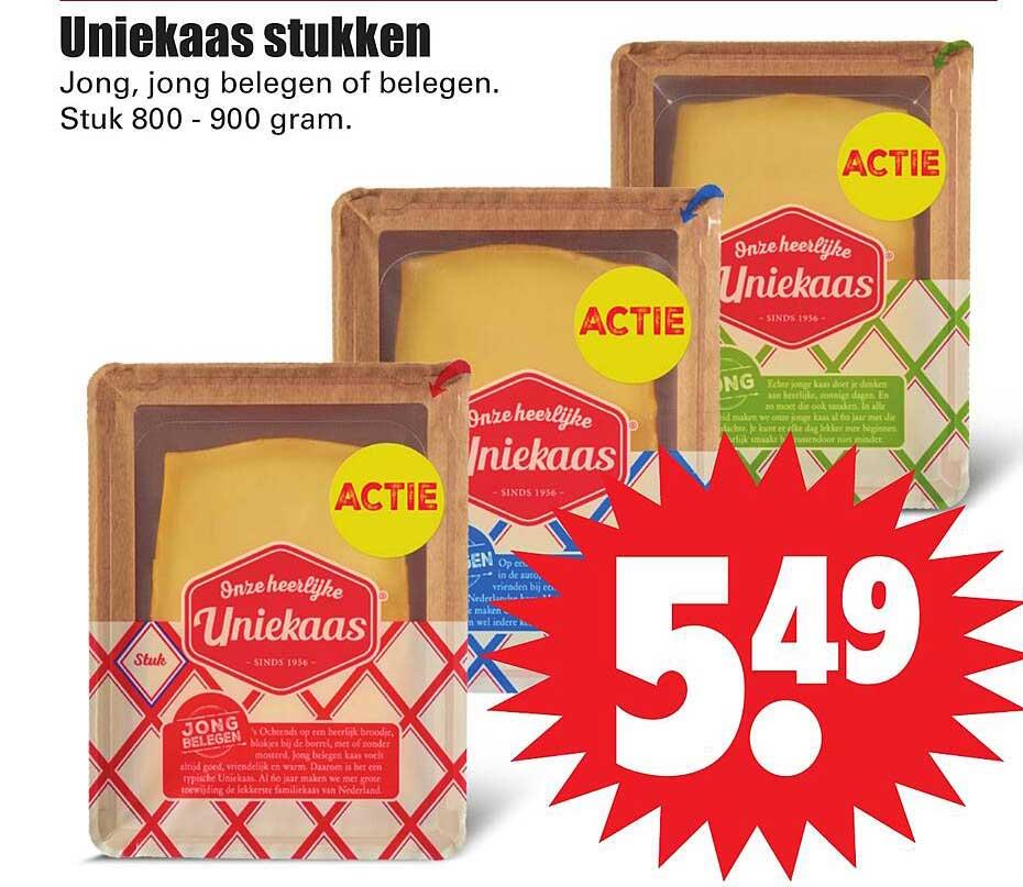 Dirk Uniekaas Stukken Jong, Jong Belegen Of Belegen