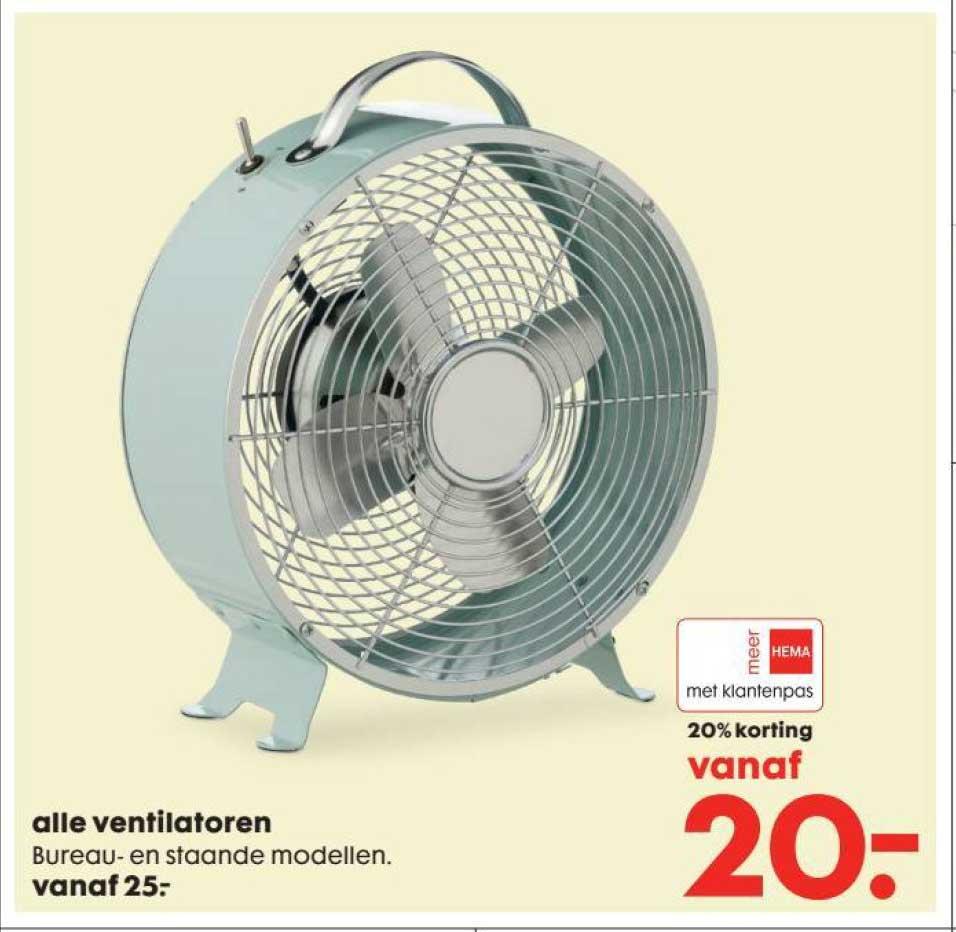 HEMA Ventilatoren