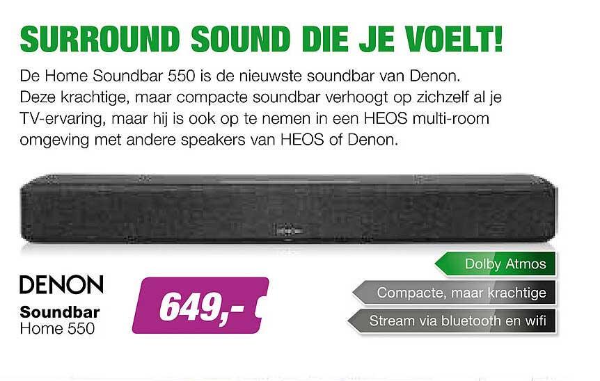 EP Denon Soundbar Home 550