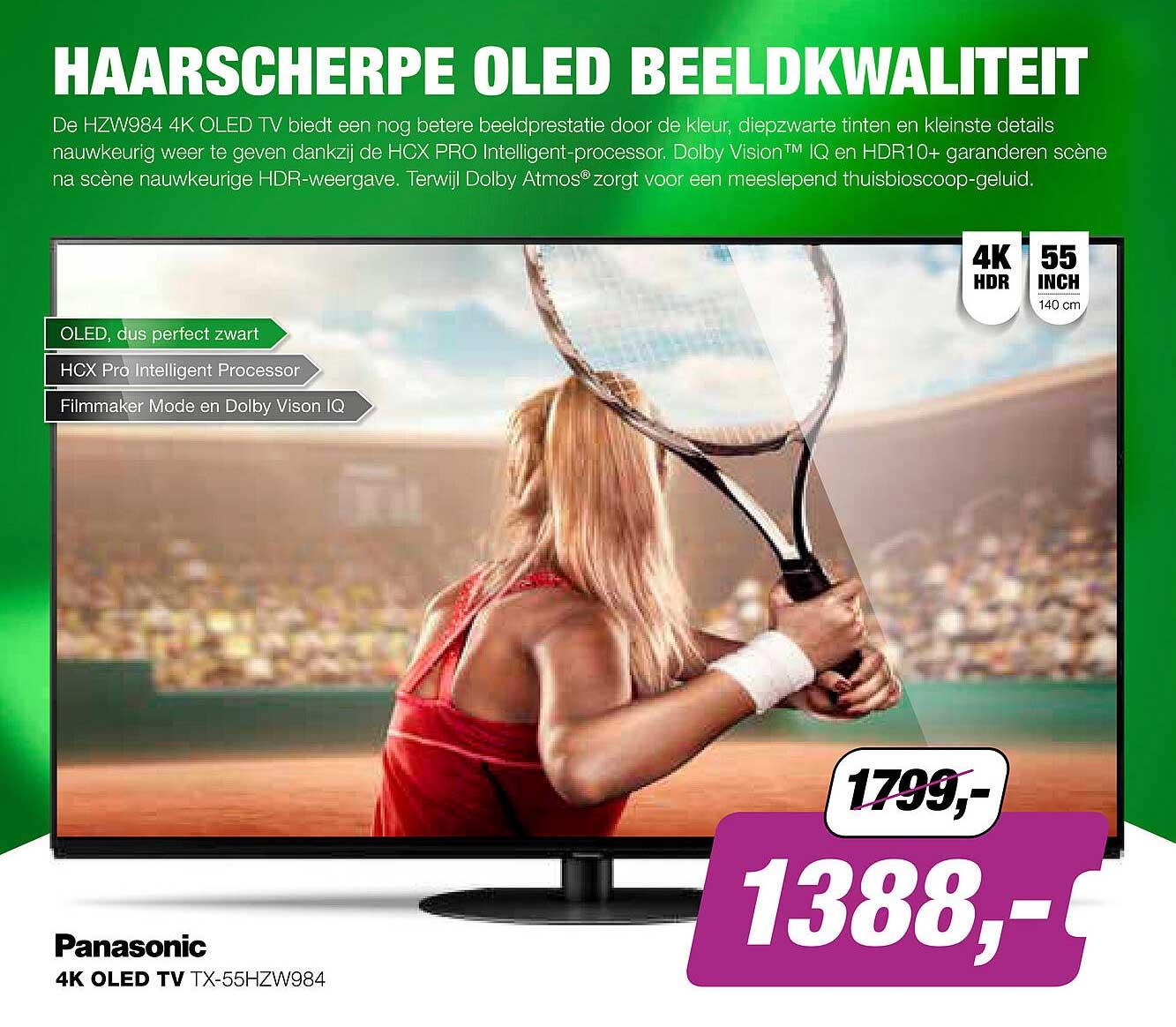 EP Panasonic 4K OLED TV TX-55HZW984