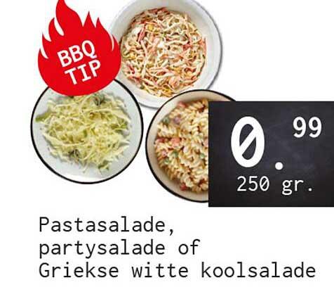 Naanhof Pastasalade, Partysalade Of Griekse Witte Koolsalade