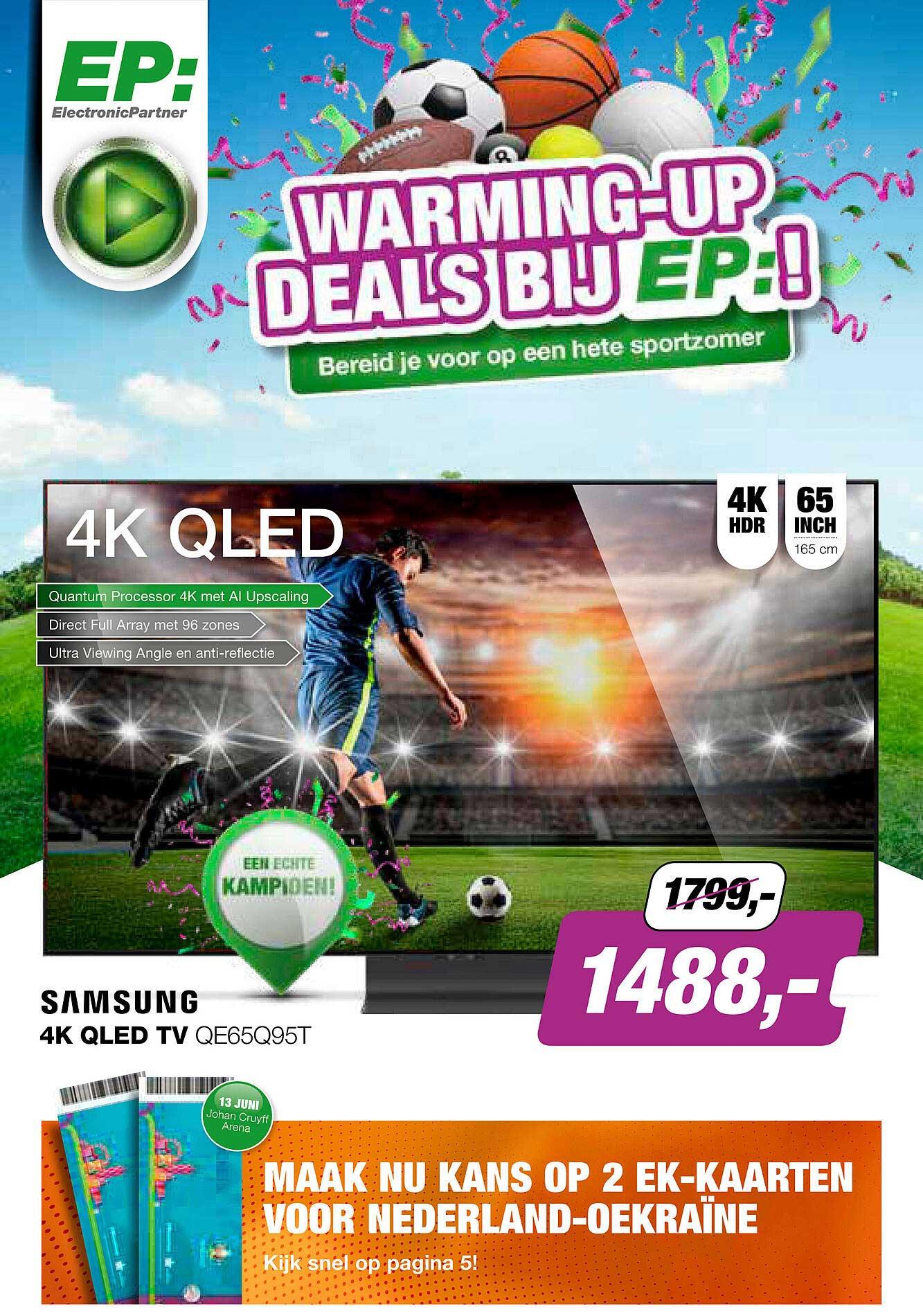 EP Samsung 4K QLED TV QE65Q95T
