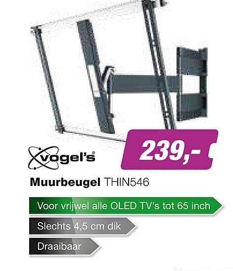 EP Vogel's Muurbeugel THIN546