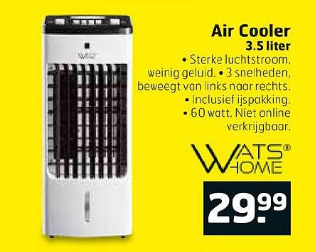 Trekpleister Air Cooler 3.5 Liter
