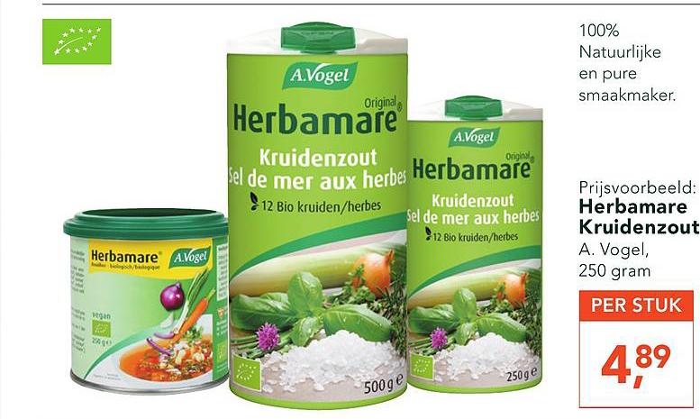 Holland & Barrett Herbamare Kruidenzout