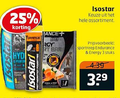 Trekpleister Isostar 25% Korting