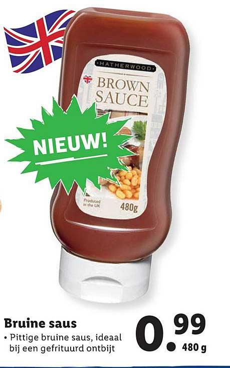 Brown Sauce Aanbieding bij Lidl