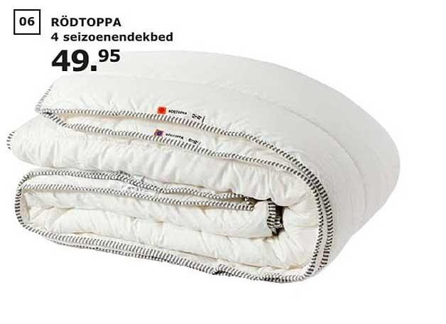IKEA Rodtoppa 4 Seizoenendekbed